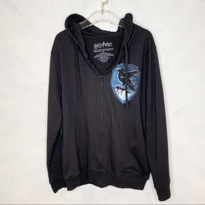 Harry Potter Shirts - Harry Potter Ravenclaw Full Zip Hoodie